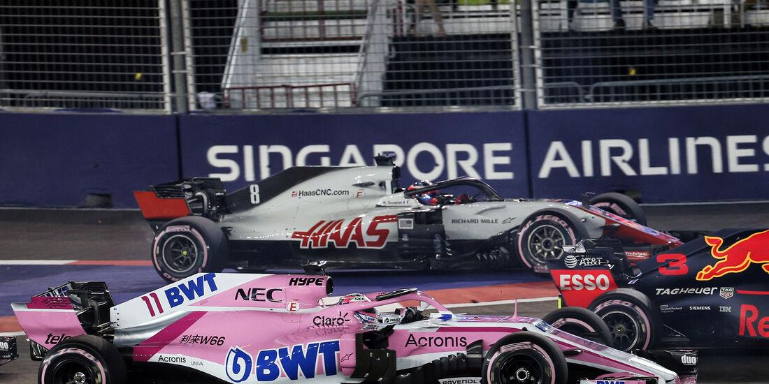 Sergio Perez - GP Singapur 2018