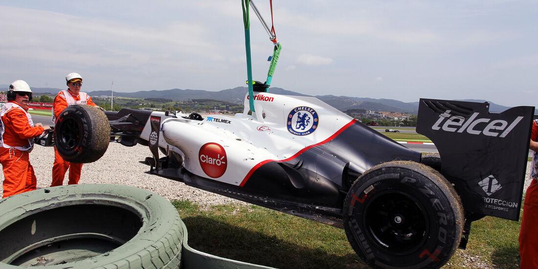 Sergio Perez GP Spanien 2012