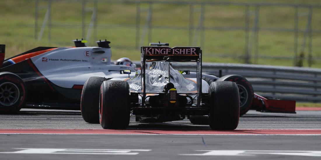 Sergio Perez - GP USA 2016