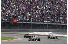 Sergio Perez - Kamui Kobayashi  - Formel 1 - GP China - 15. April 2012