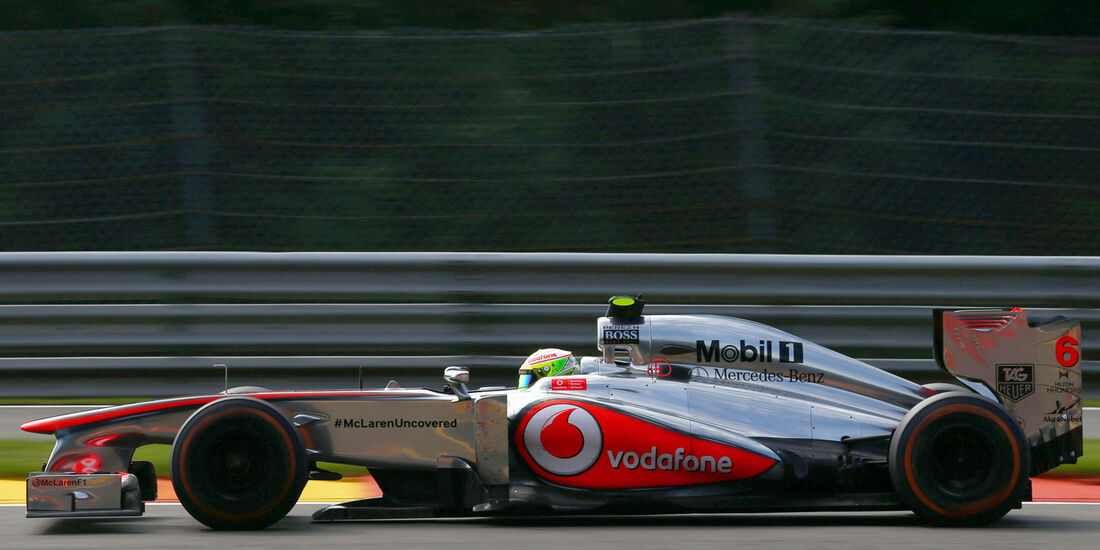 Sergio Perez - McLaren - Formel 1 - GP Belgien - Spa-Francorchamps - 23. August 2013