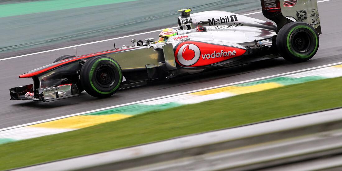 Sergio Perez - McLaren - Formel 1 - GP Brasilien - 22. November 2013