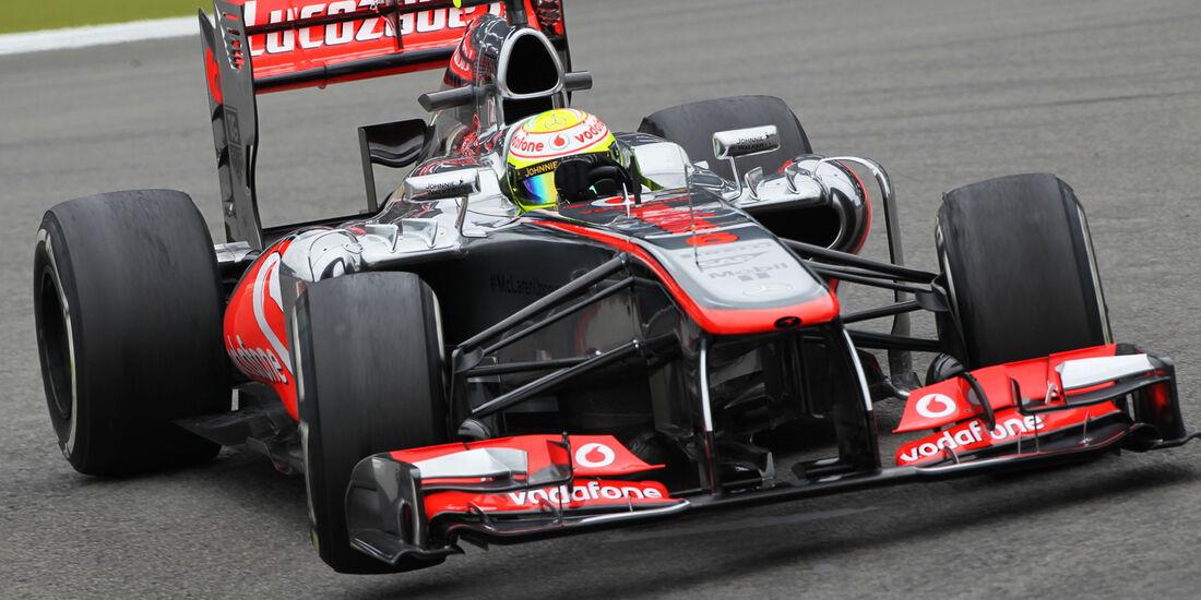 Sergio Perez - McLaren - Formel 1 - GP Deutschland - 5. Juli 2013