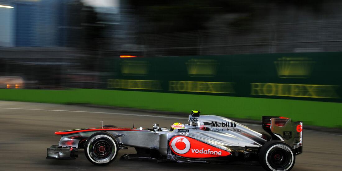Sergio Perez - McLaren - Formel 1 - GP Singapur - 20. September 2013