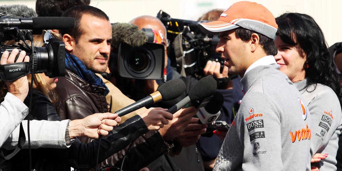 Sergio Perez - McLaren - Formel 1 - GP USA - 14. November 2013