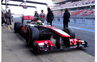 Sergio Perez - McLaren - Formel 1 - Test - Barcelona - 20. Februar 2013