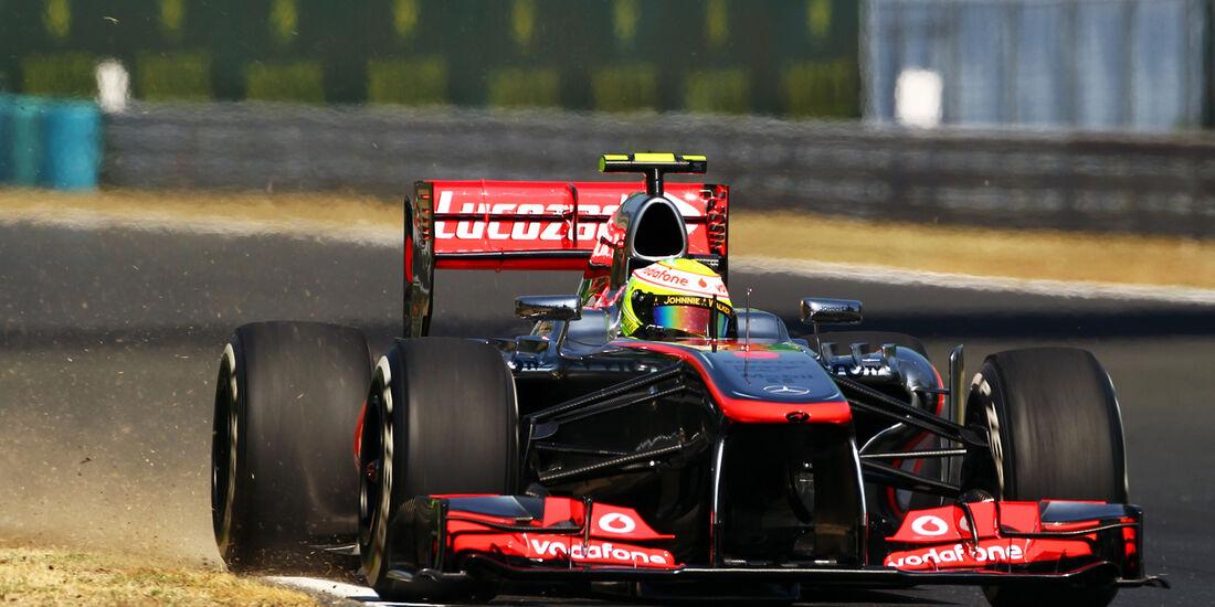 Sergio Perez McLaren GP Ungarn 2013