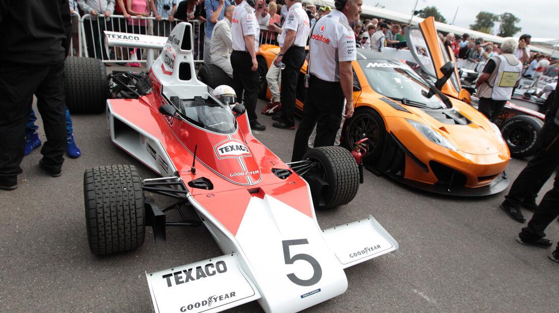 Sergio Perez - McLaren M23 - Goodwood 2013