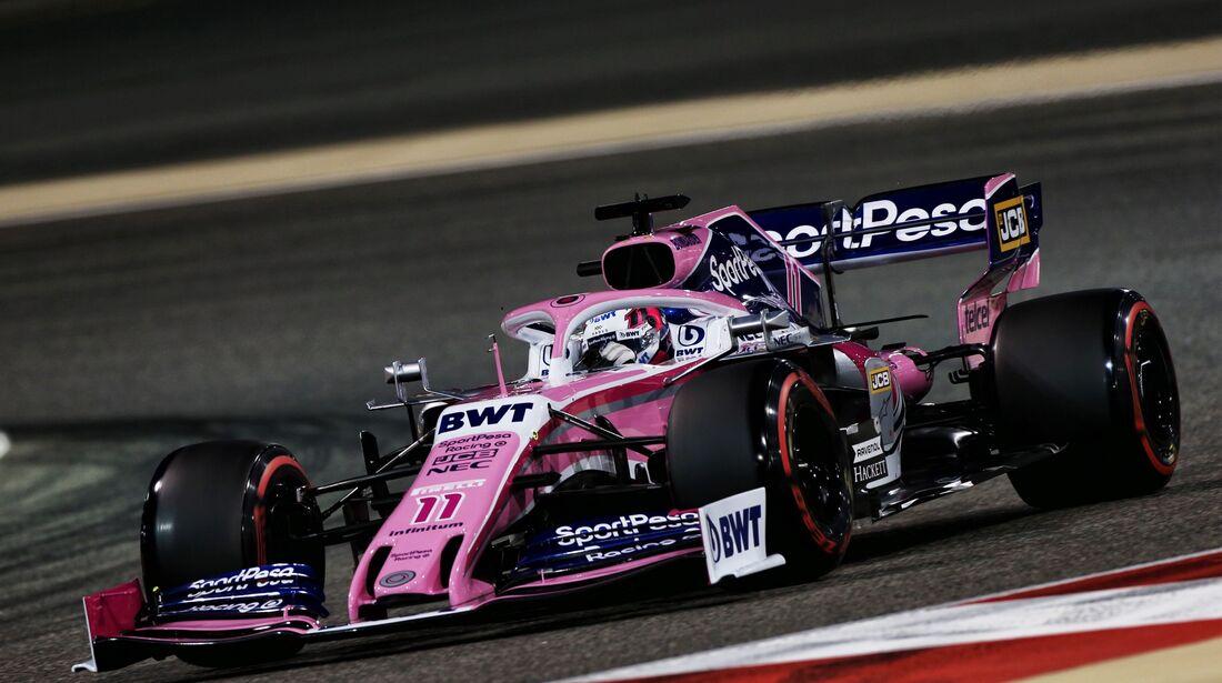 Sergio Perez - Racing Point - Formel 1 - GP Bahrain - 30. März 2019
