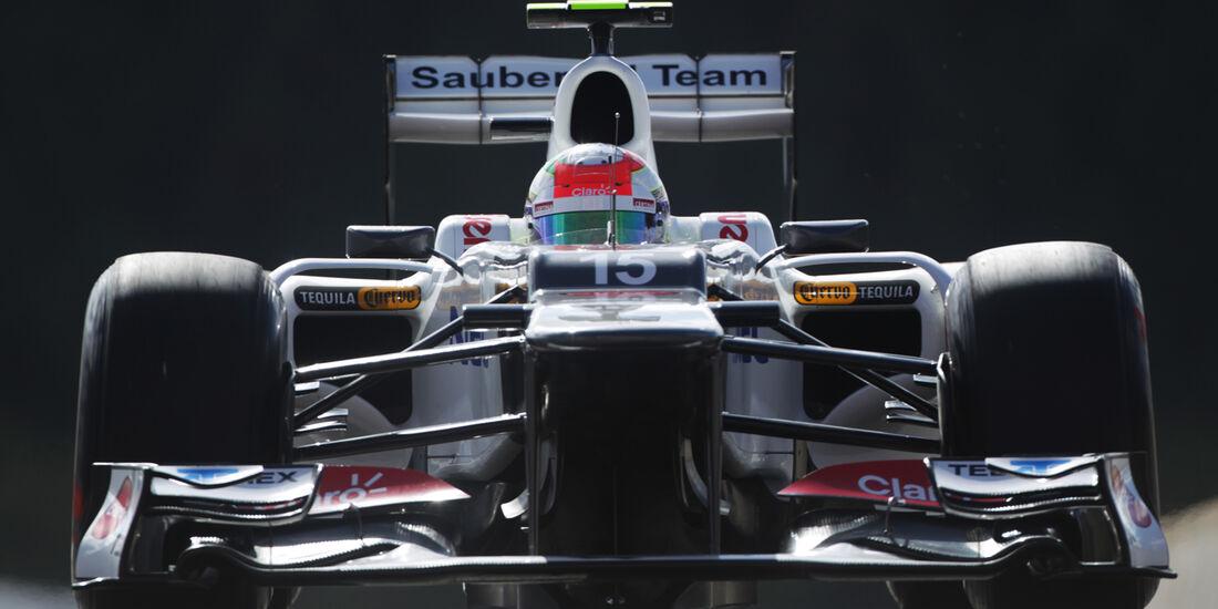 Sergio Perez - Sauber - Formel 1 - GP Belgien - Spa-Francorchamps - 1. September 2012