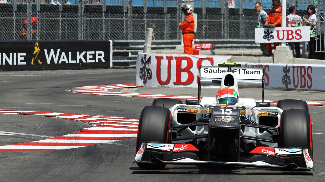 Sergio Perez - Sauber - Formel 1 - GP Monaco - 26. Mai 2012