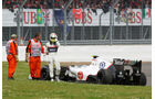 Sergio Perez Sauber GP England 2012
