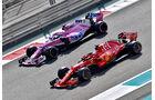 Sergio Perez & Sebastian Vettel - Formel 1 - GP Abu Dhabi  -24. November 2018