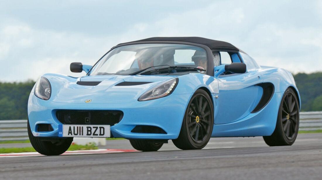 Serienfahrzeuge Cabrios bis 40 000 € - Lotus Elise Club Racer