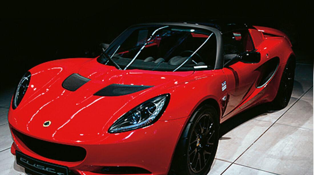 Serienfahrzeuge Cabrios bis 60 000 € - Lotus Elise S