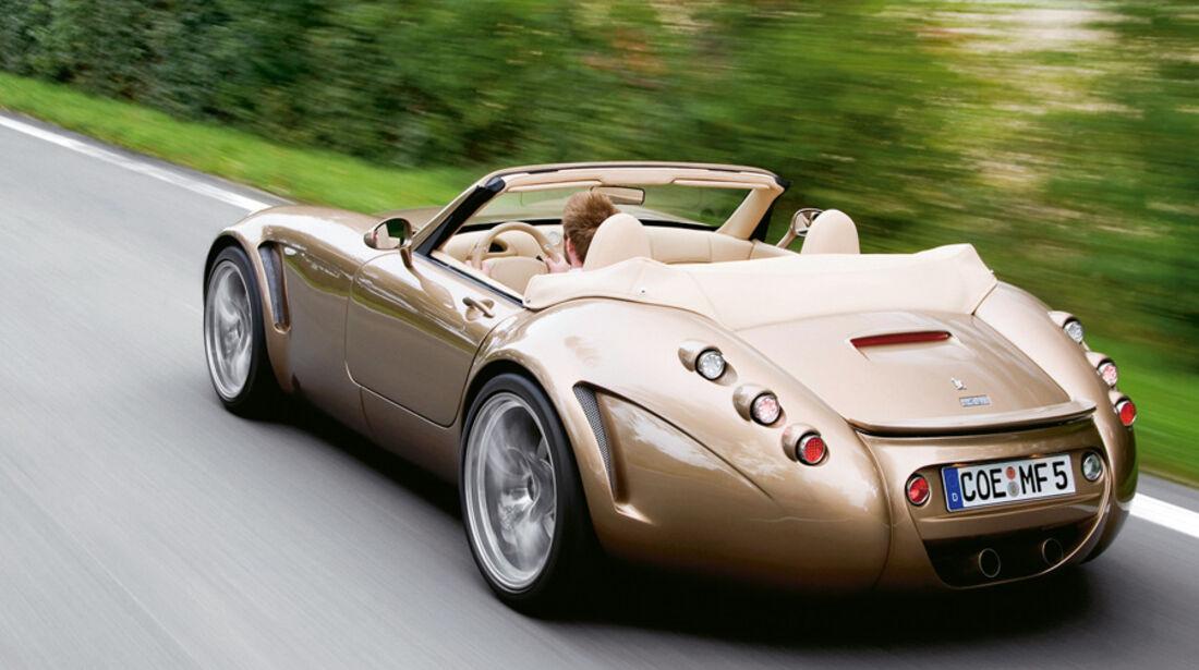 Serienfahrzeuge Cabrios über 130 000 € - Wiesmann MF5 Roadster