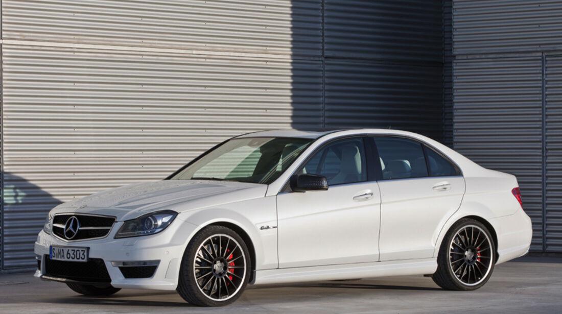 Serienfahrzeuge Limousinen bis 80 000 € - Mercedes C 63 AMG