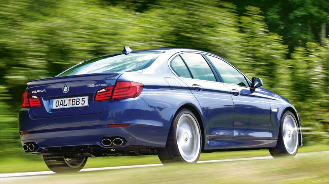 Serienfahrzeuge Limousinen über 80 000 € - BMW Alpina B5 Biturbo