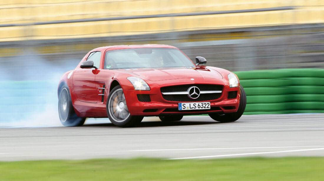 Serienfahrzeuge Supersportler - Mercedes SLS AMG