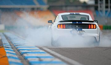 Shelby GT350 Mustang, Heckansicht