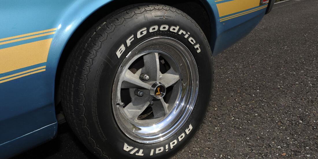 Shelby Mustang GT 500, Baujahr 1969, Rad