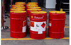 Shell Benzin-Fässer - Formel 1 - GP Australien - 13. März 2013