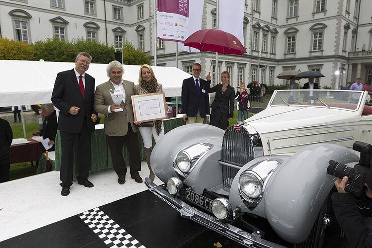 Sieger des Concours d'Elegance der Schloss Bensberg Classics 2010