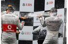 Siegerehrung  - Formel 1 - GP China - 15. April 2012