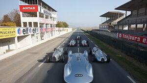 Silberpfeile - Ausstellung im Audi Museum Mobile