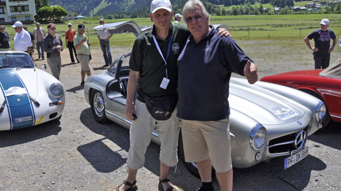 Silvretta Classic 2010 - Detlef Kloß und Thomas Mächtel