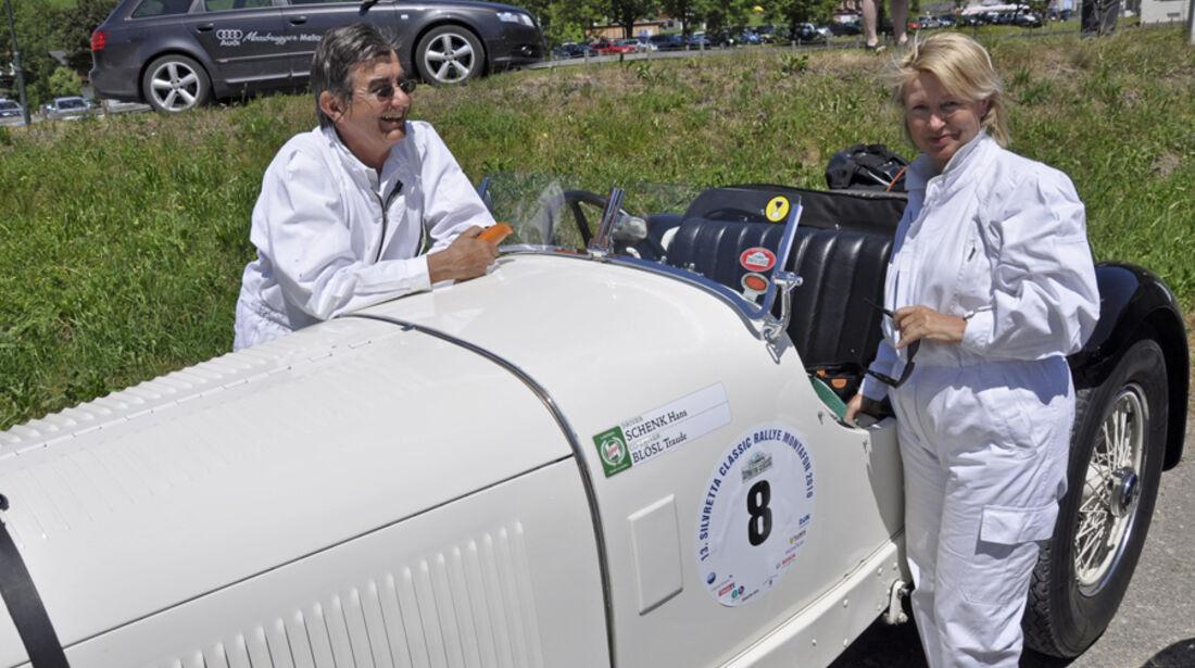 Silvretta Classic 2010 - Dr. Hans Schenk und Traude Bloesl