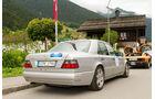 Silvretta Classic 2014, Rallye-Fahren, Mercedes-Benz E 500