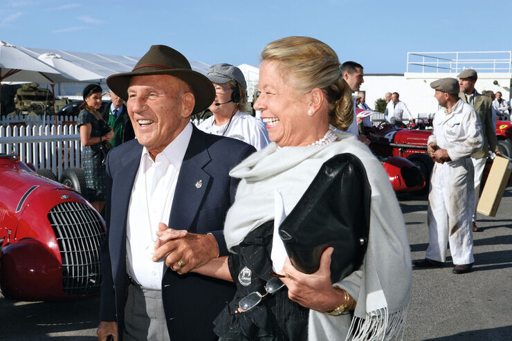Sir Stirling Moss, Frau Susie, Goodwood