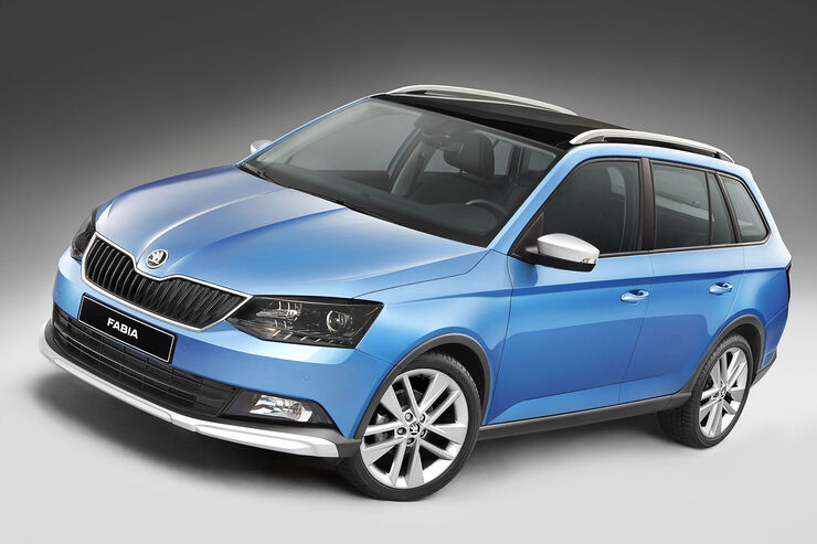 skoda fabia combi scoutline outdoor look ab euro auto motor und sport. Black Bedroom Furniture Sets. Home Design Ideas