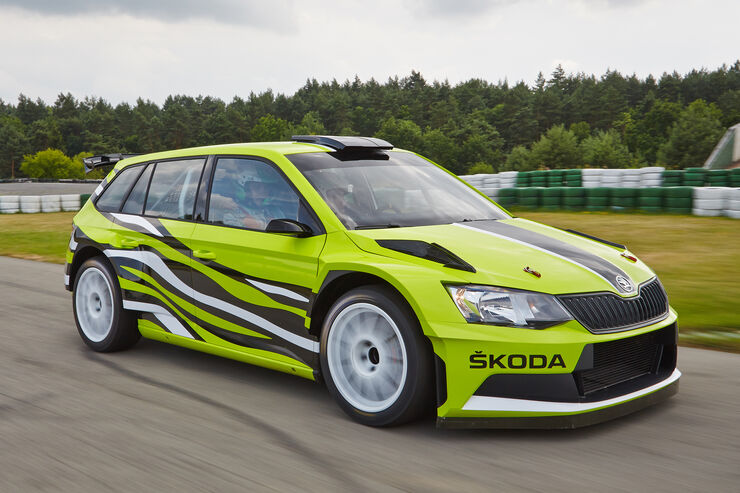 skoda fabia r5 combi ausfahrt in skodas rallye kombi. Black Bedroom Furniture Sets. Home Design Ideas