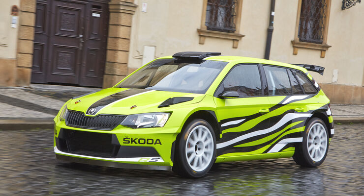 skoda fabia r5 combi ausfahrt in skodas rallye kombi auto motor und sport. Black Bedroom Furniture Sets. Home Design Ideas