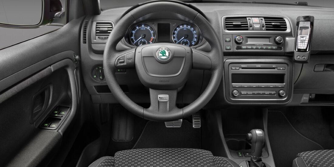 Skoda Fabia RS, Cockpit