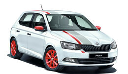 Skoda Fabia Red & Grey Sondermodell