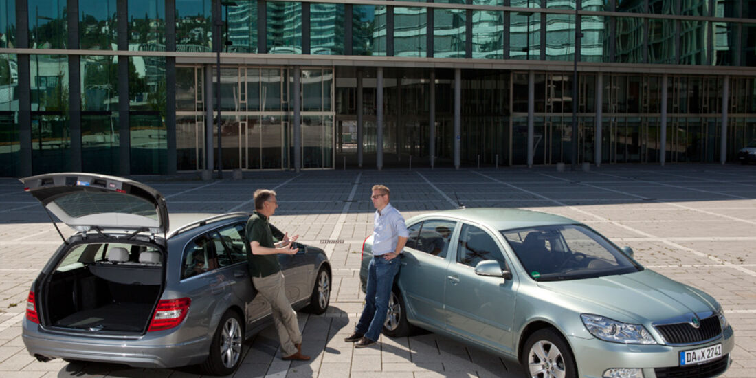 Skoda, Kombi, Limousine, Seitenansicht, Jens Katemann, Bernd Stegemann