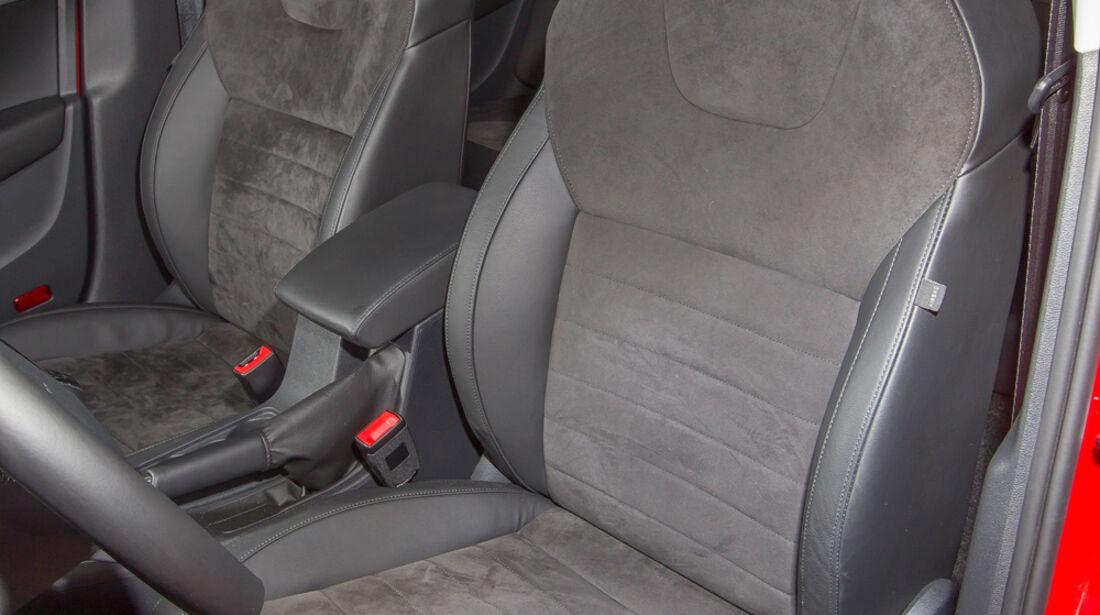 Skoda Octavia 1.4 TSI, Fahrersitz