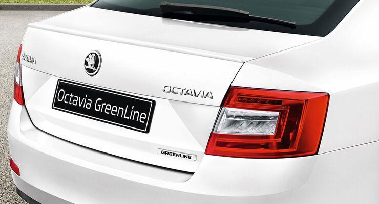 Skoda Octavia Greenline Limousine