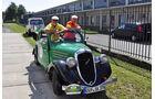Skoda Popular bei der Sachsen Classic 2011, erste Etappe, Start in Dresden