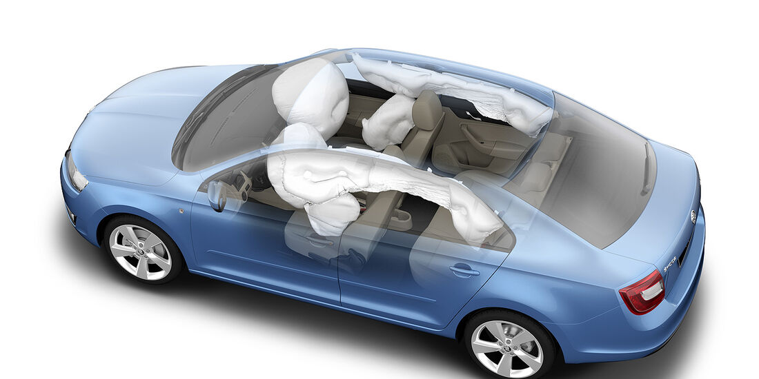 Skoda Rapid, Airbags