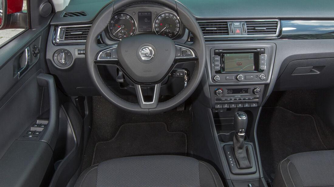 Skoda Rapid SB 1.4 TSI, Cockpit