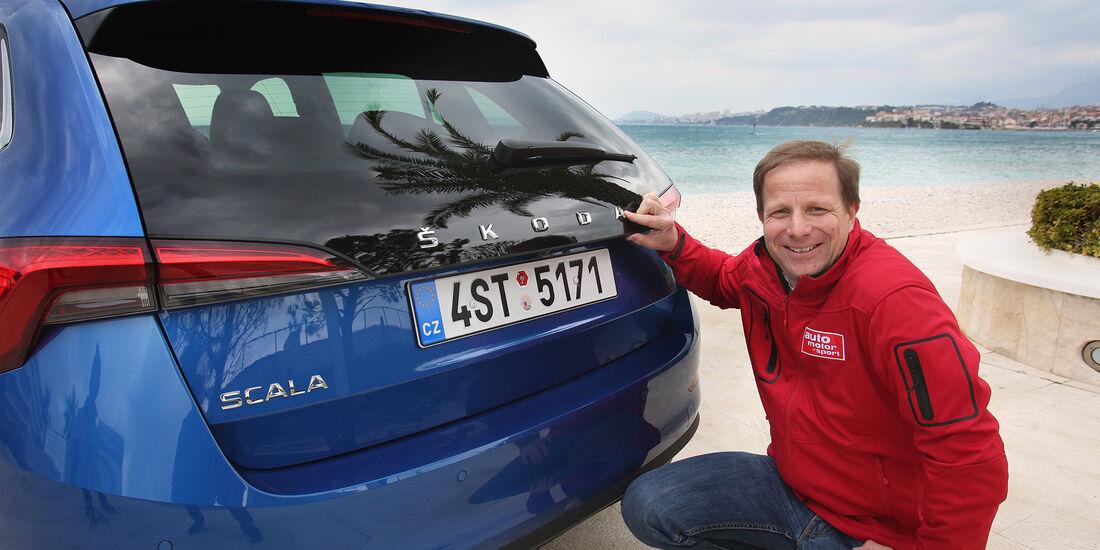 Skoda Scala 2019 Tschechiens Xxl Polo Spielt Golf Auto Motor Und
