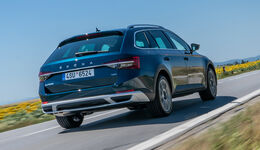 Skoda Superb, Exterieur