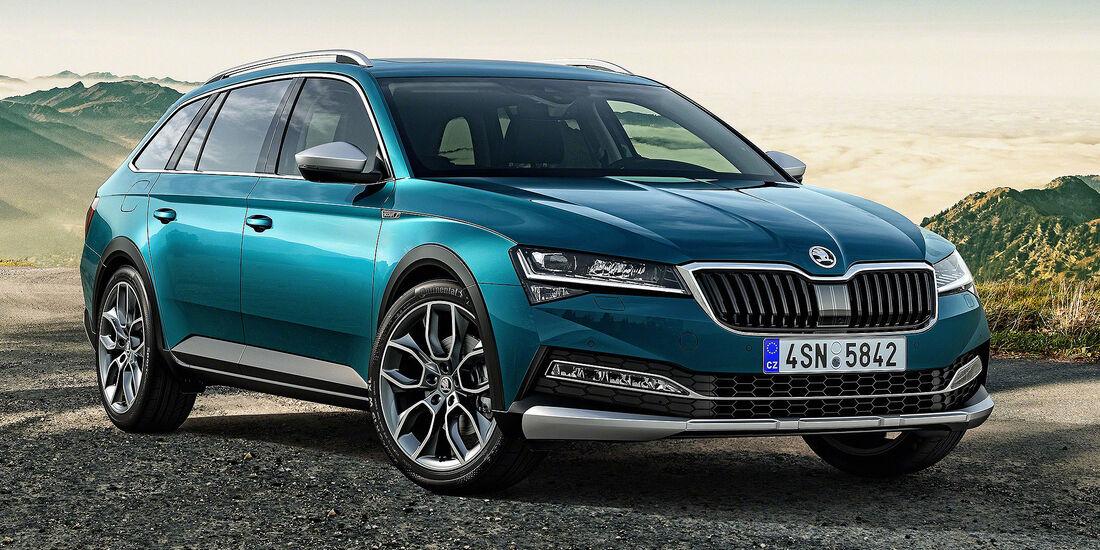 Skoda Superb Scout 2019 Zum Facelift Gehts Offroad Auto Motor