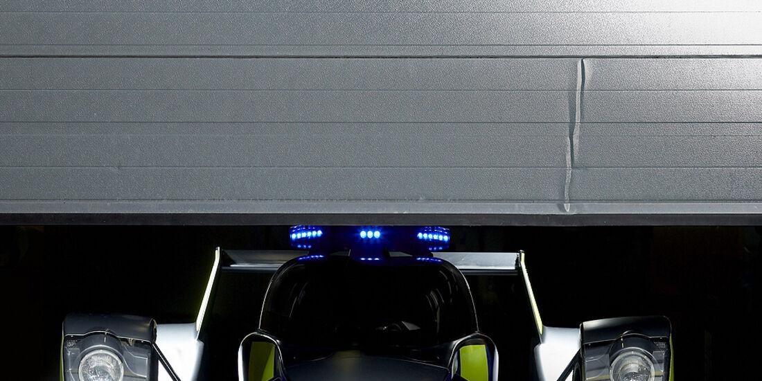 Skurrile Polizeiautos, Streifenwagen, Caparo T1