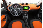 Smart Forfour 0.9, Cockpit