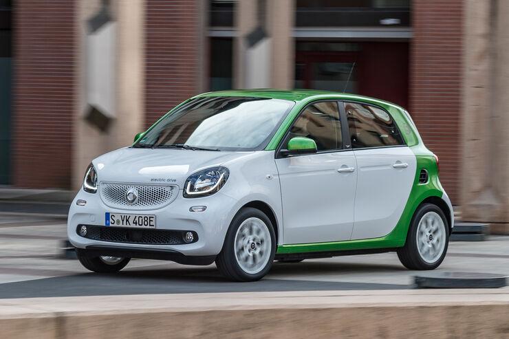 smart forfour electric drive 2017 im fahrbericht auto